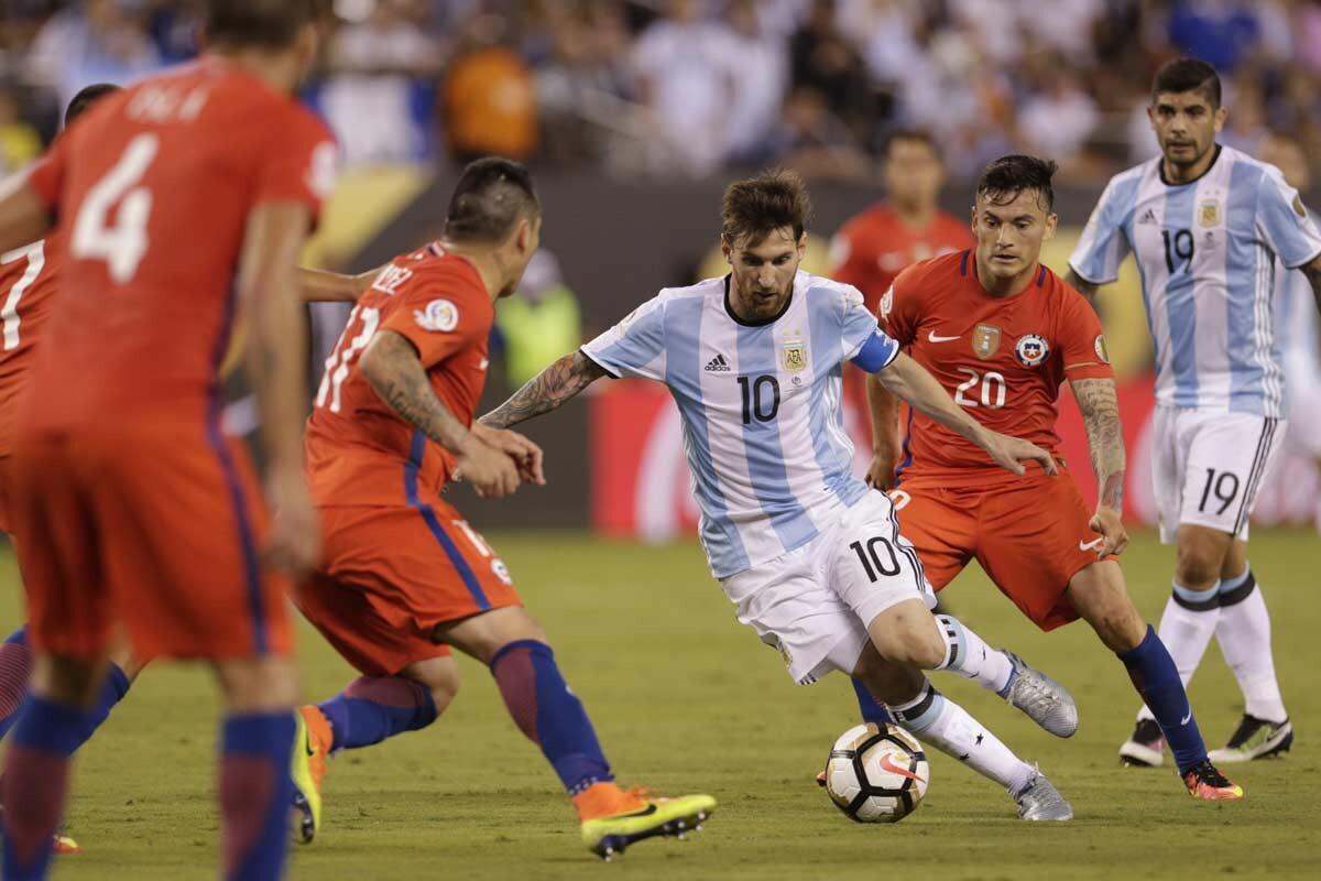 Chile Argentina, final de la Copa America