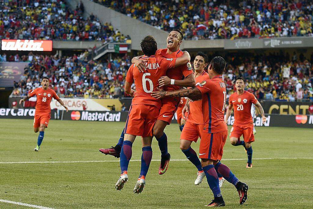 Chile venció a Colombia en la semifinal