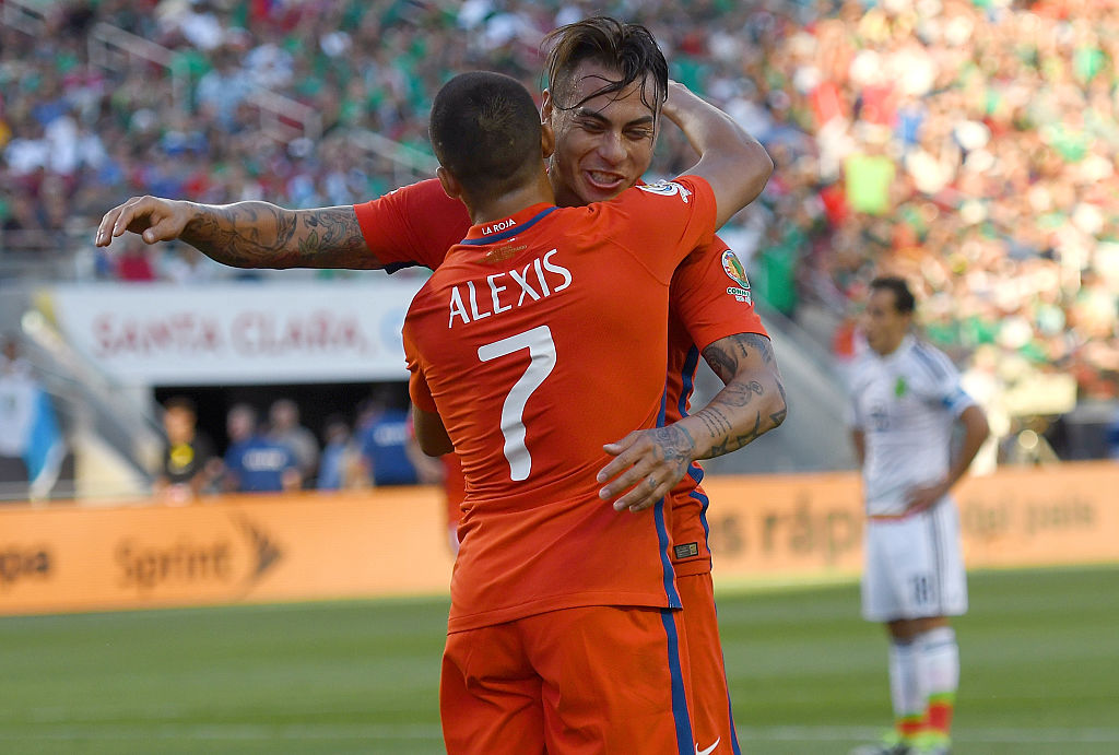 Chile goleó a México