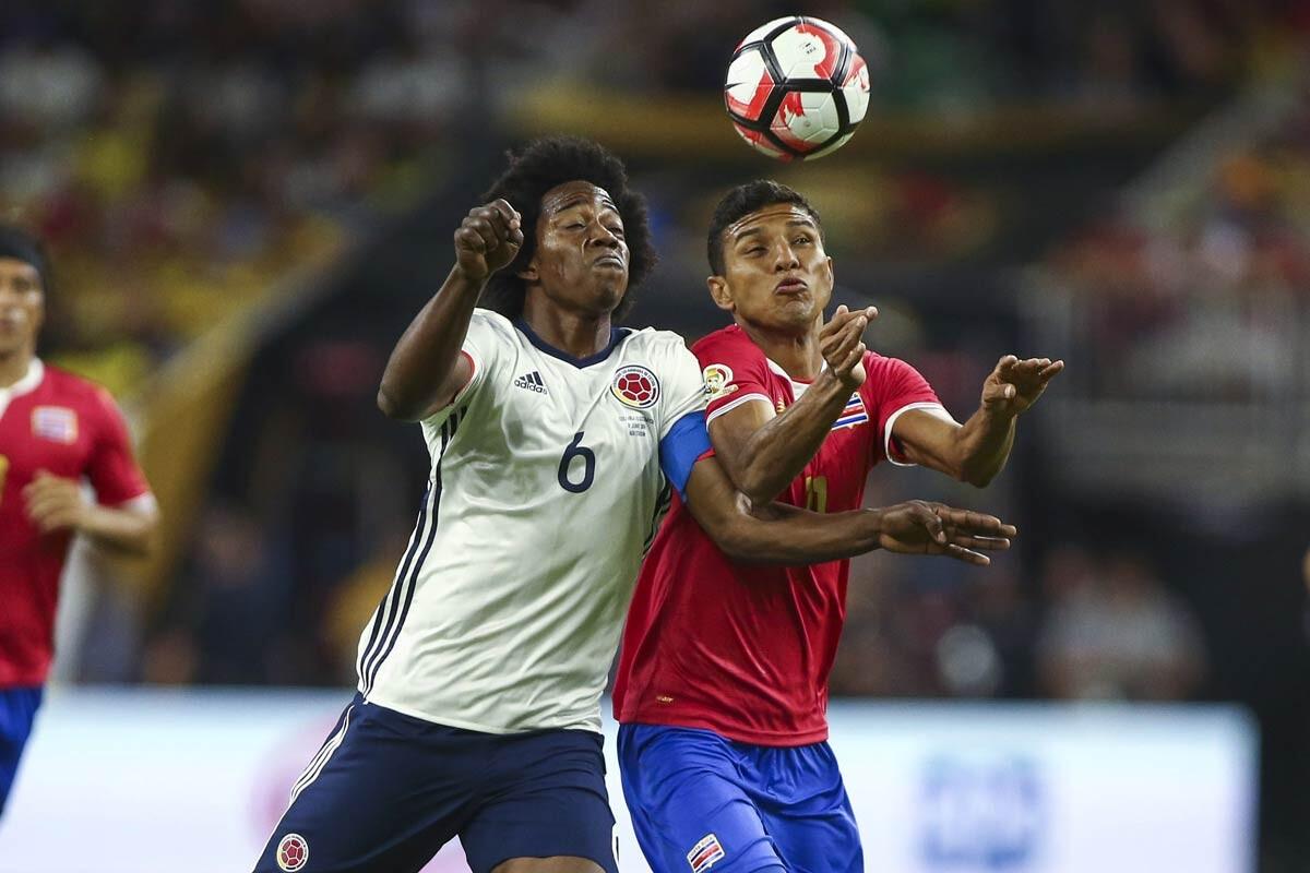 Colombia perdió frente a Costa Rica