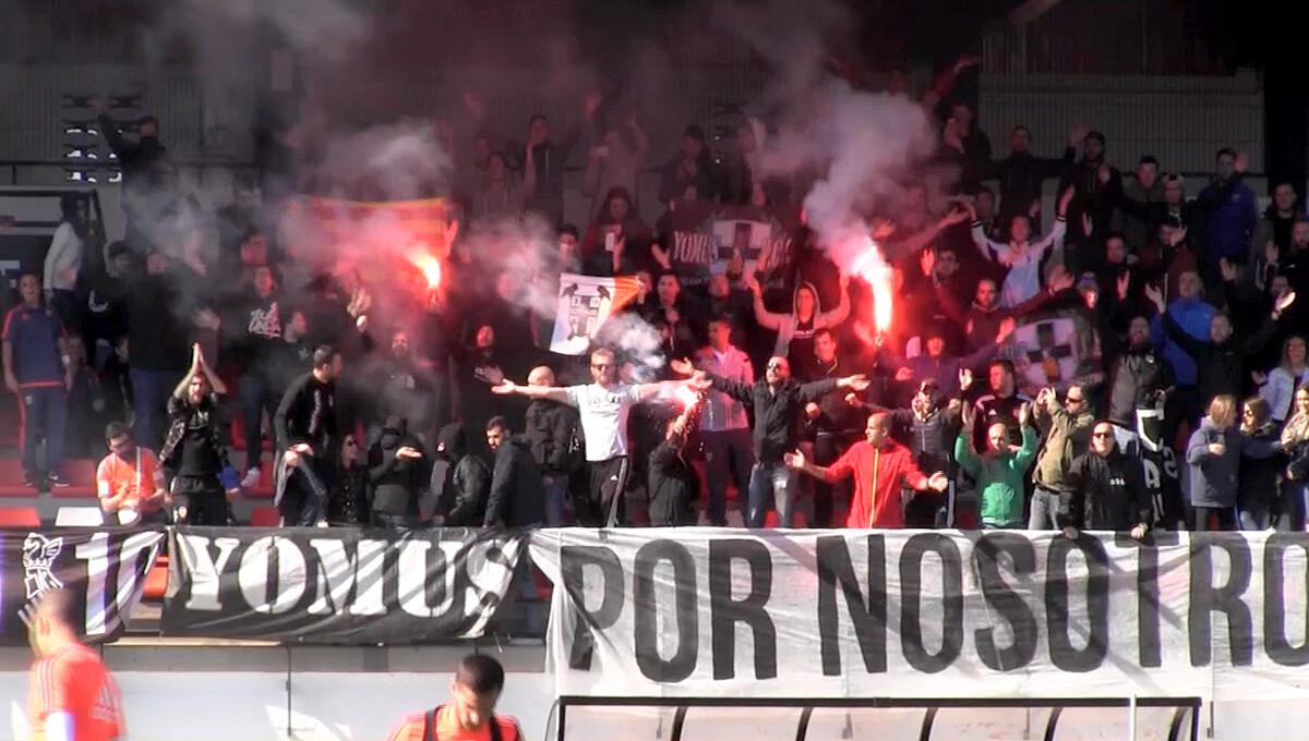 Curva Nord Yomus Valencia Ciudad Deportiva de Paterna