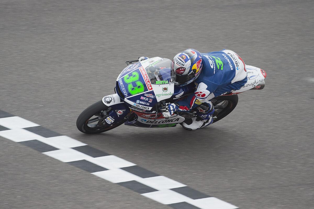 Bastianini se encamina hacia el subcampeonato de Moto3
