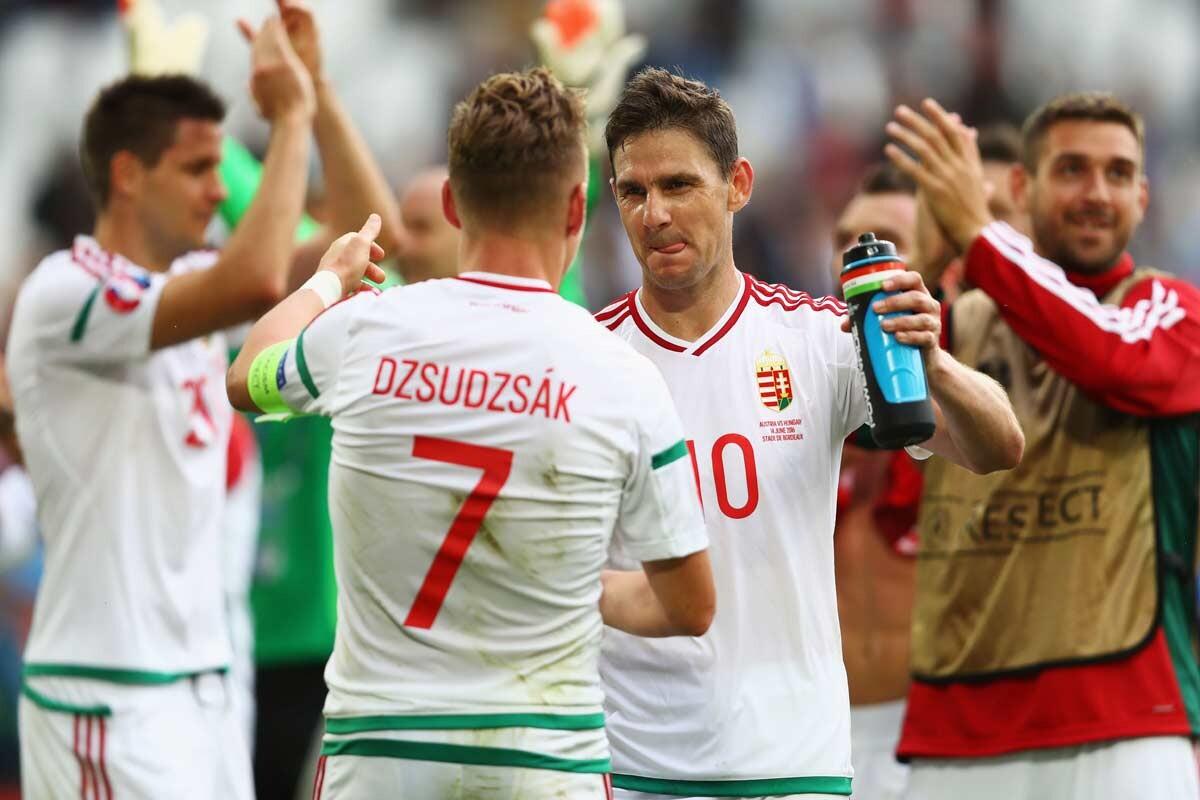 Hungría ha firmado la primera gran sorpresa de la Euro 2016