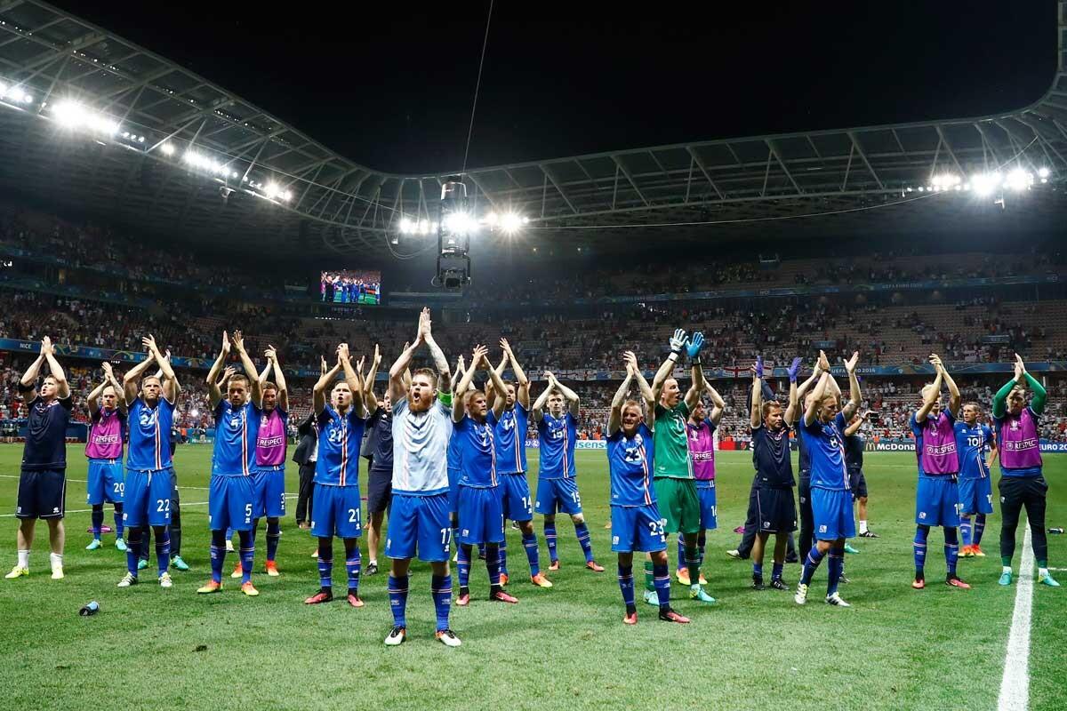 La Selección de Islandia