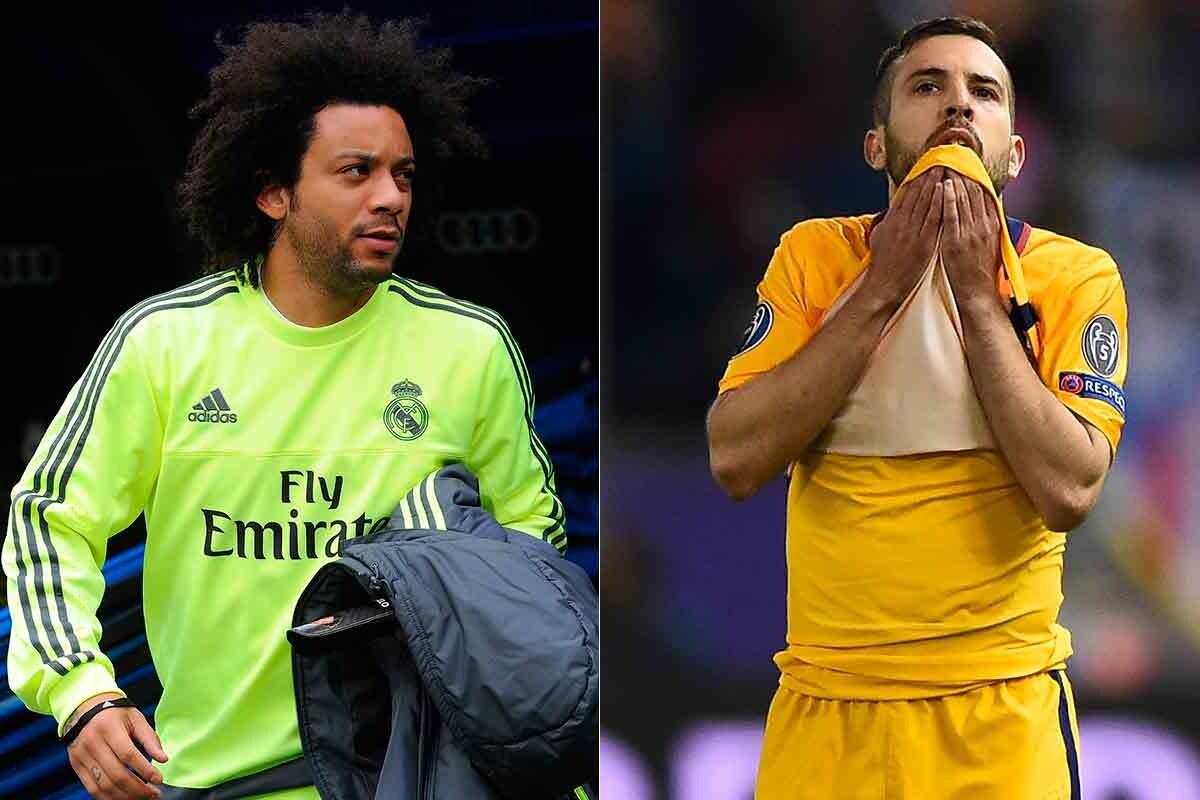 Marcelo y Jordi Alba no tienen un sustituto claro