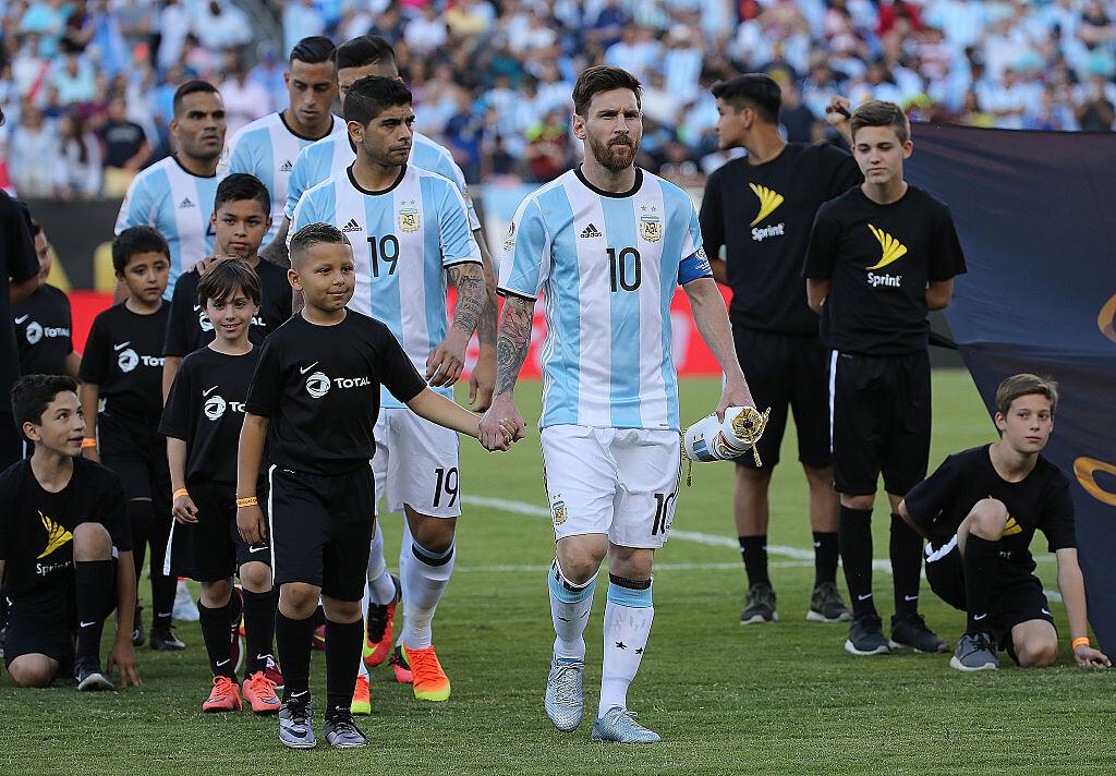 Messi en la Copa América Centenario