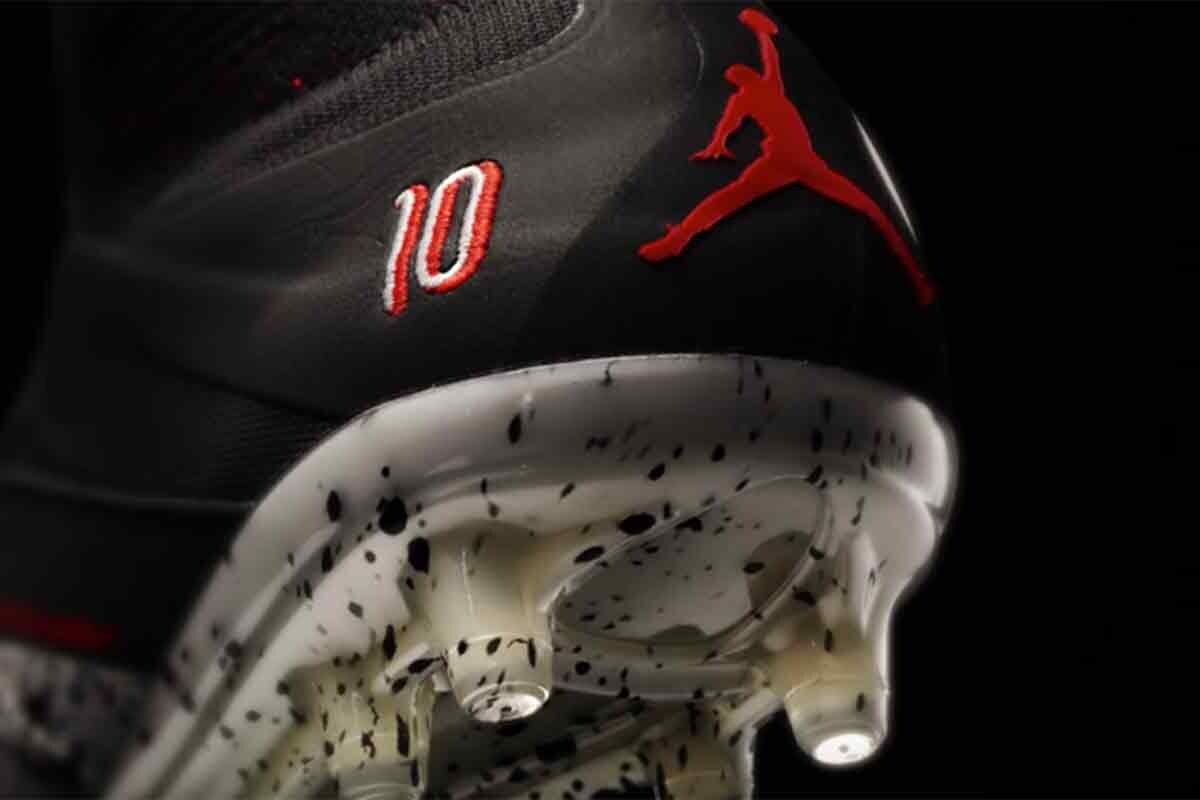 El brasileño elige las Air Jordan 5 para diseñar sus nuevas botas