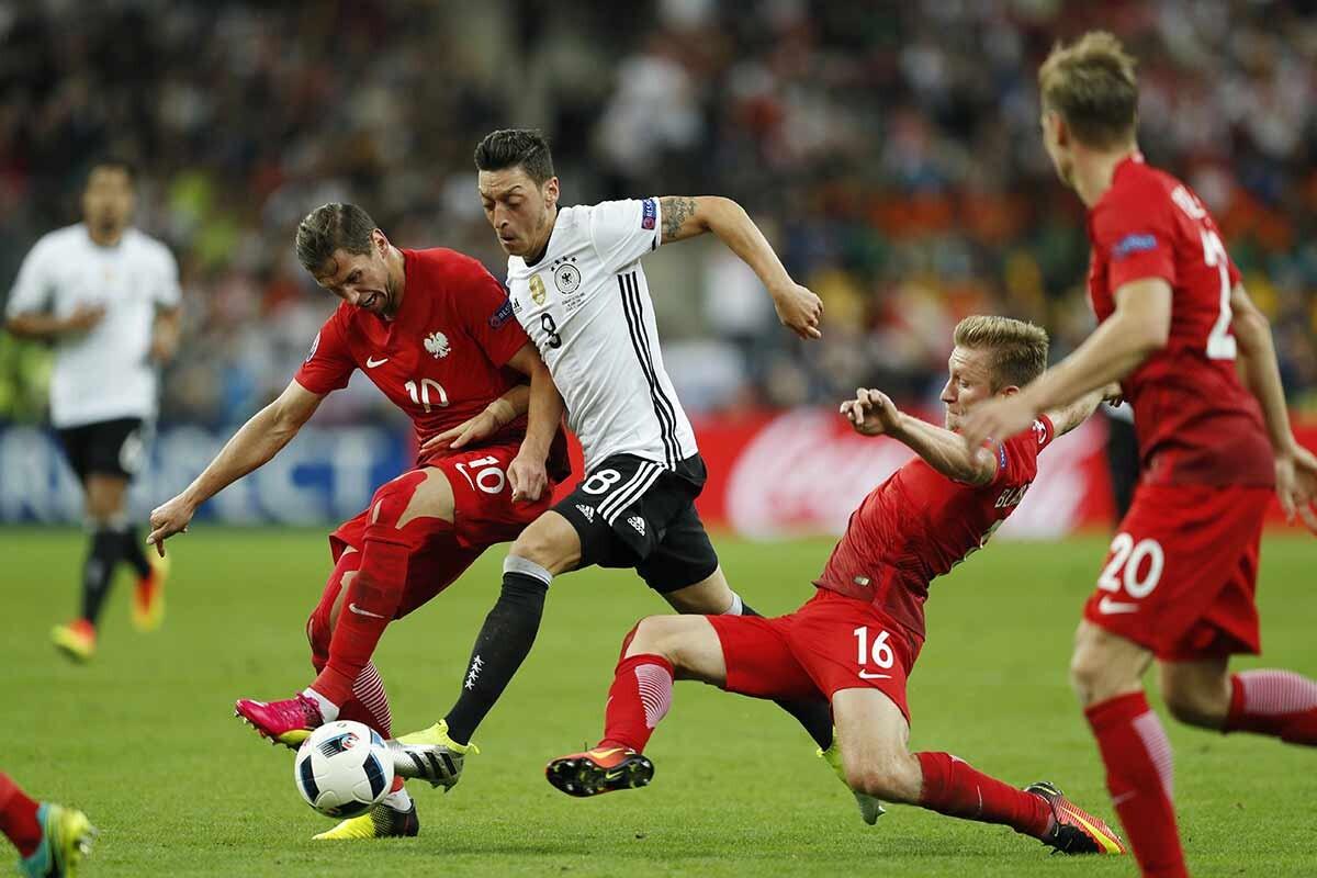 Ozil jugador de la selección alemana