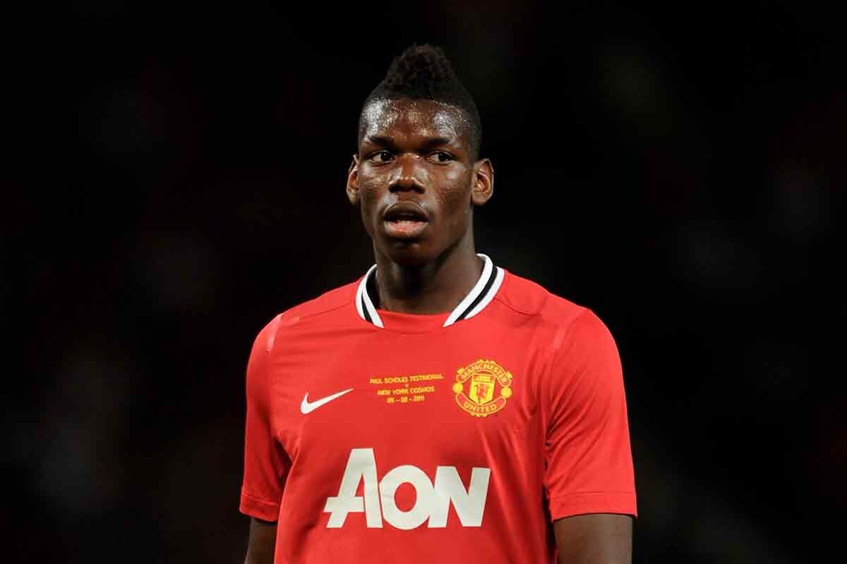 Paul Pogba, durante su etapa en el Manchester United
