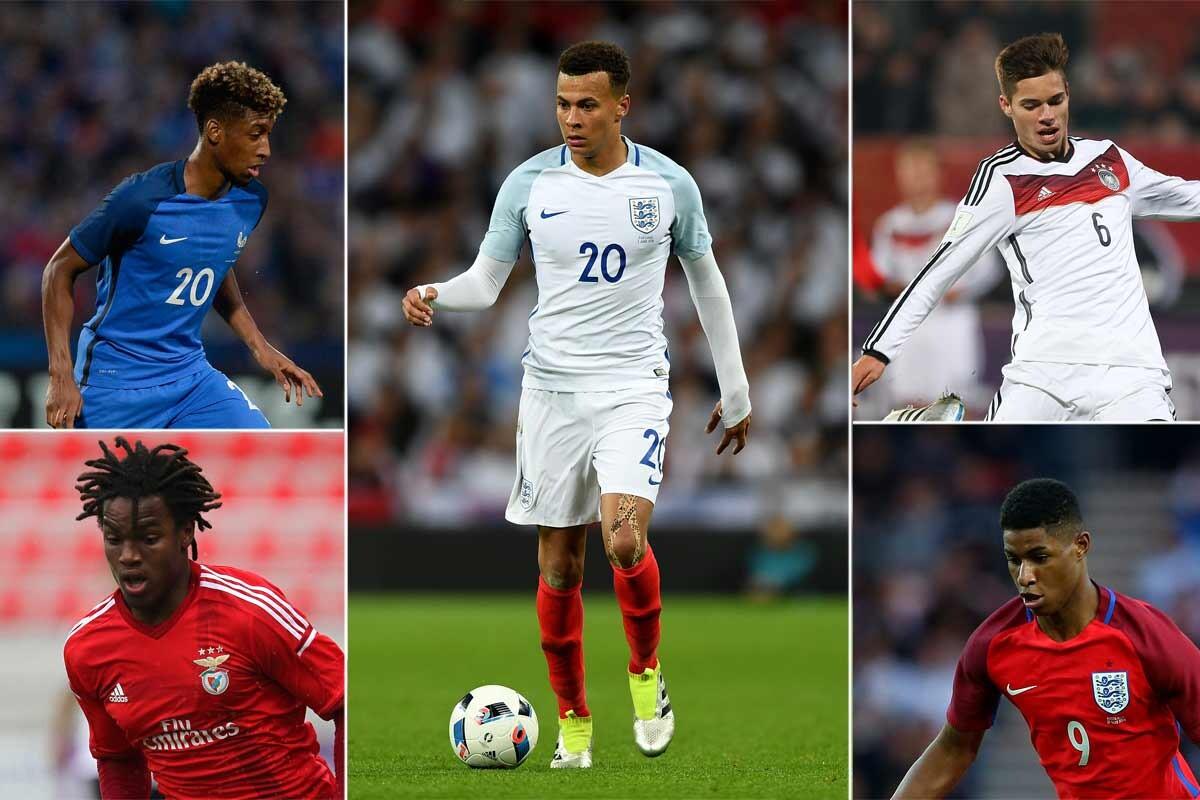 Las promesas de la EURO 2016