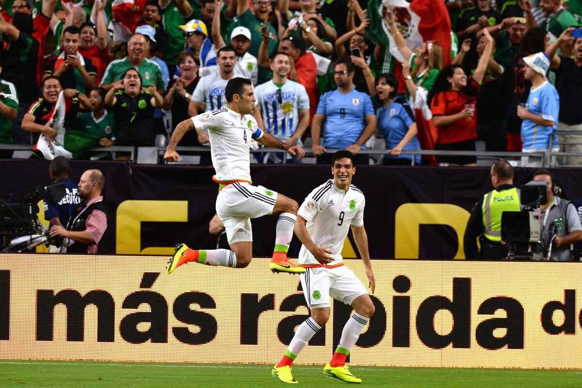 Rafa Marquez, con la selección de México