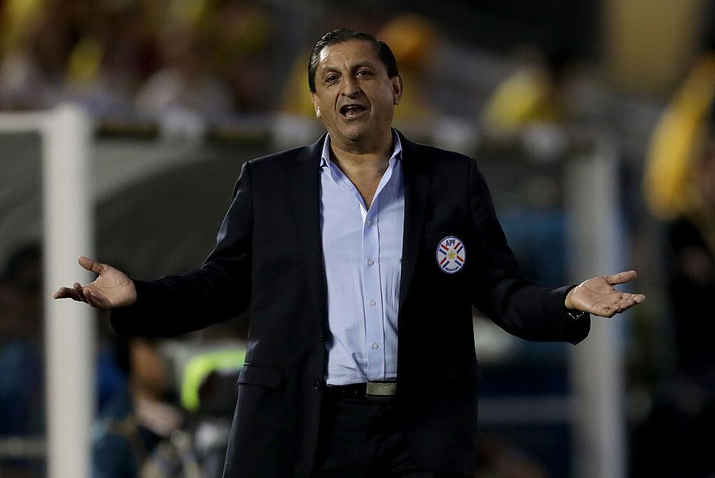 Ramón Díaz con Paraguay