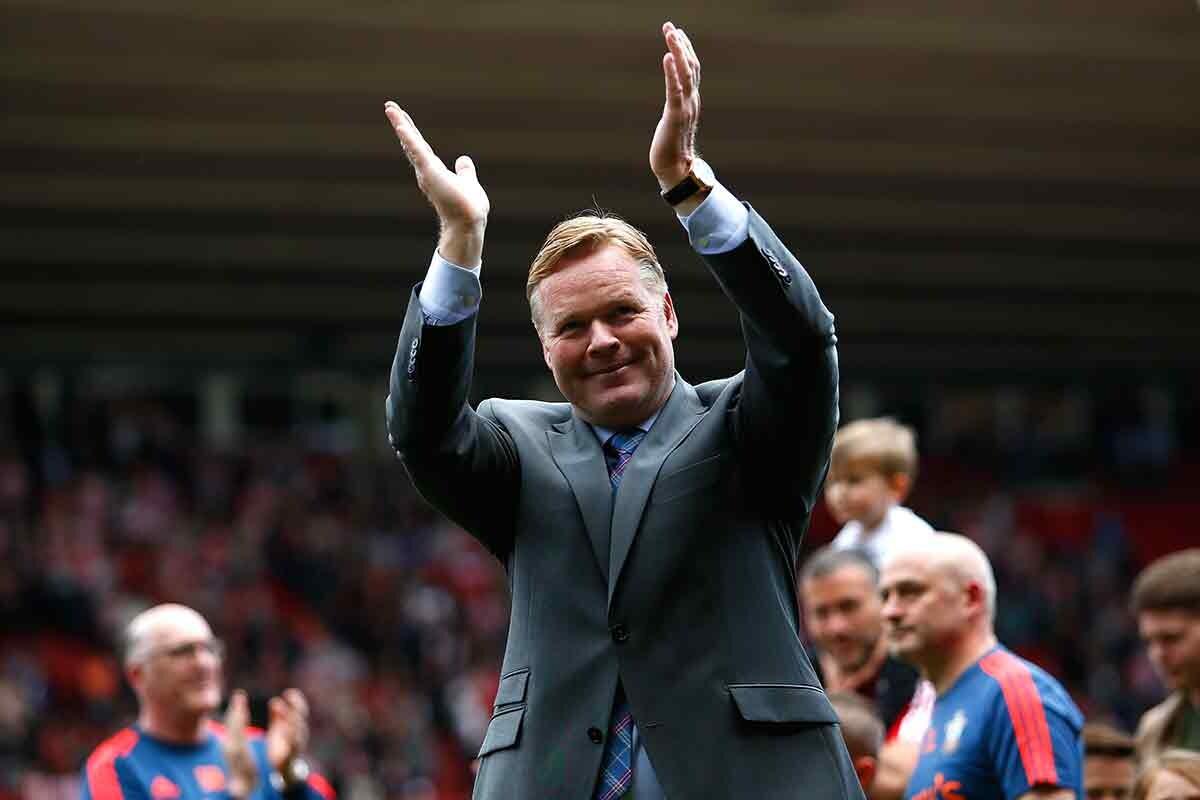 Ronald Koeman, entrenador del Everton