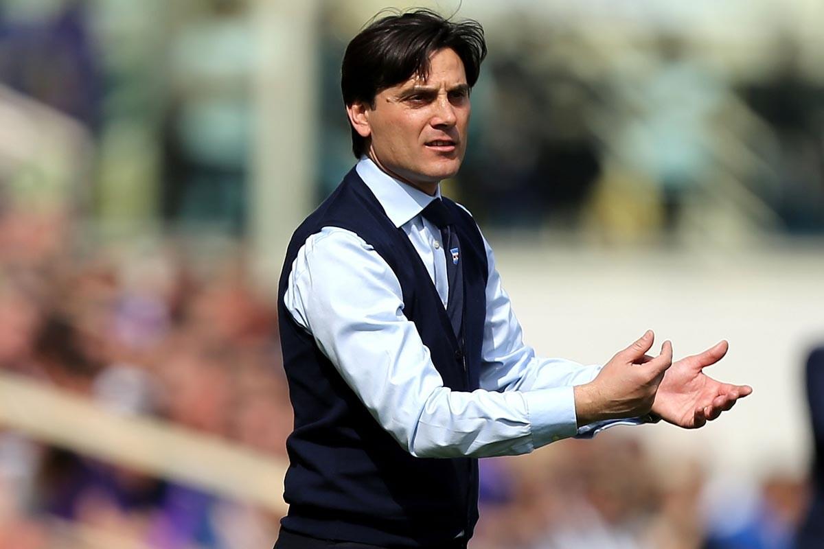 Vincenzo Montella, nuevo entrenador del AC Milan