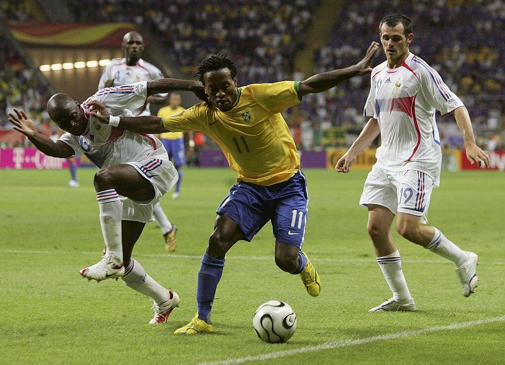 Zé Roberto con Brasil