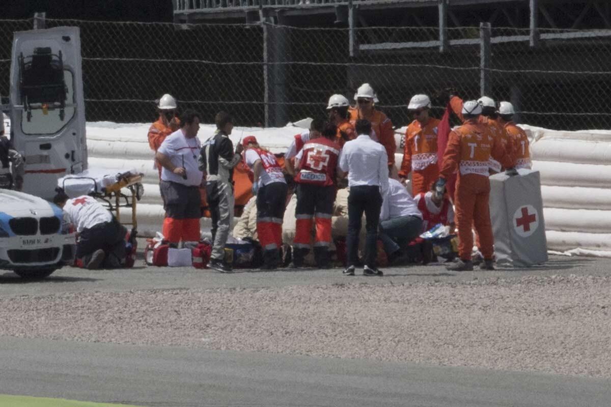 Accidente de Luis Salom