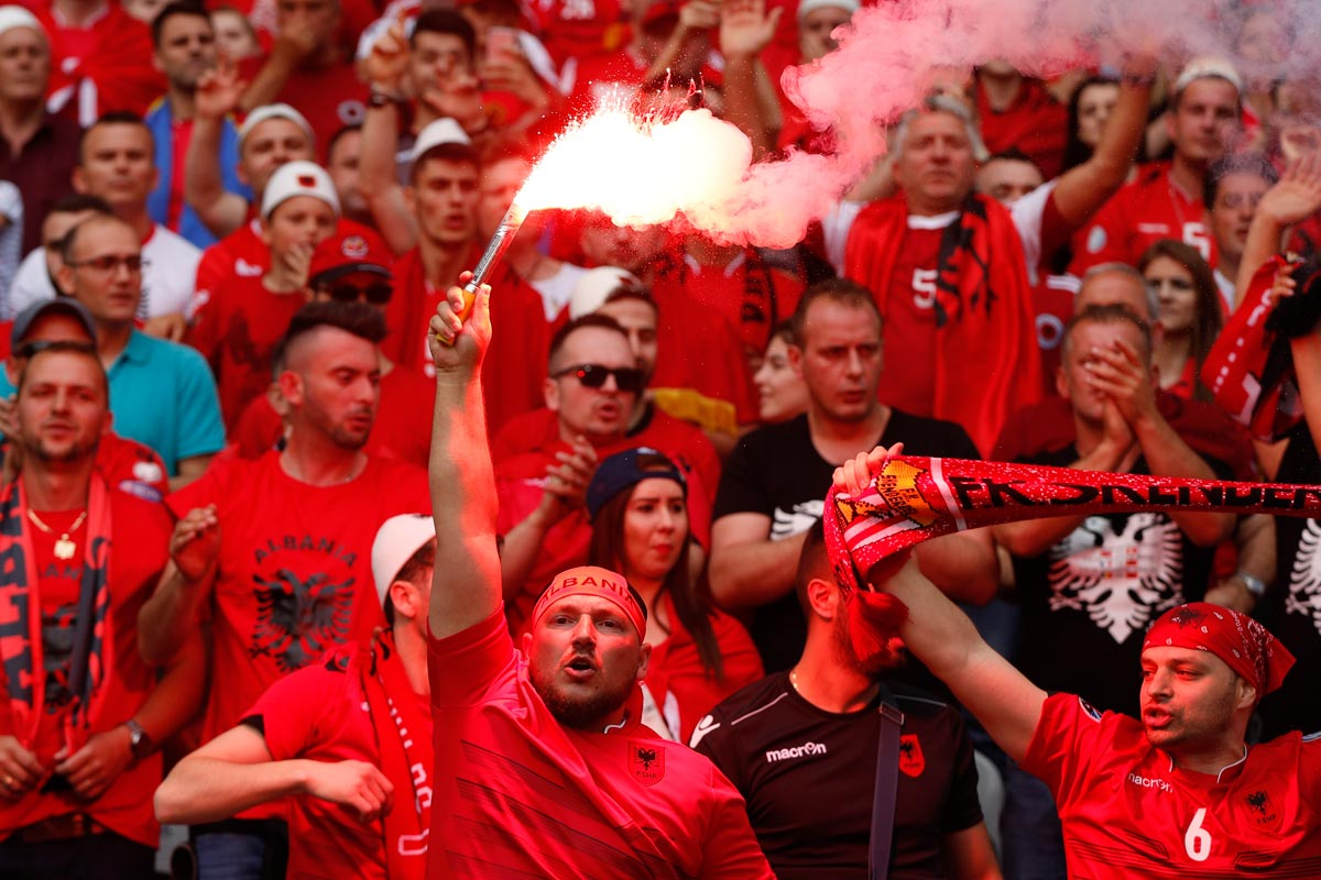 Aficionados de Albania