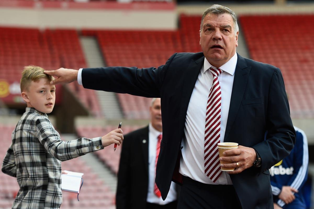 Sam Allardyce, entrenador del Sunderland