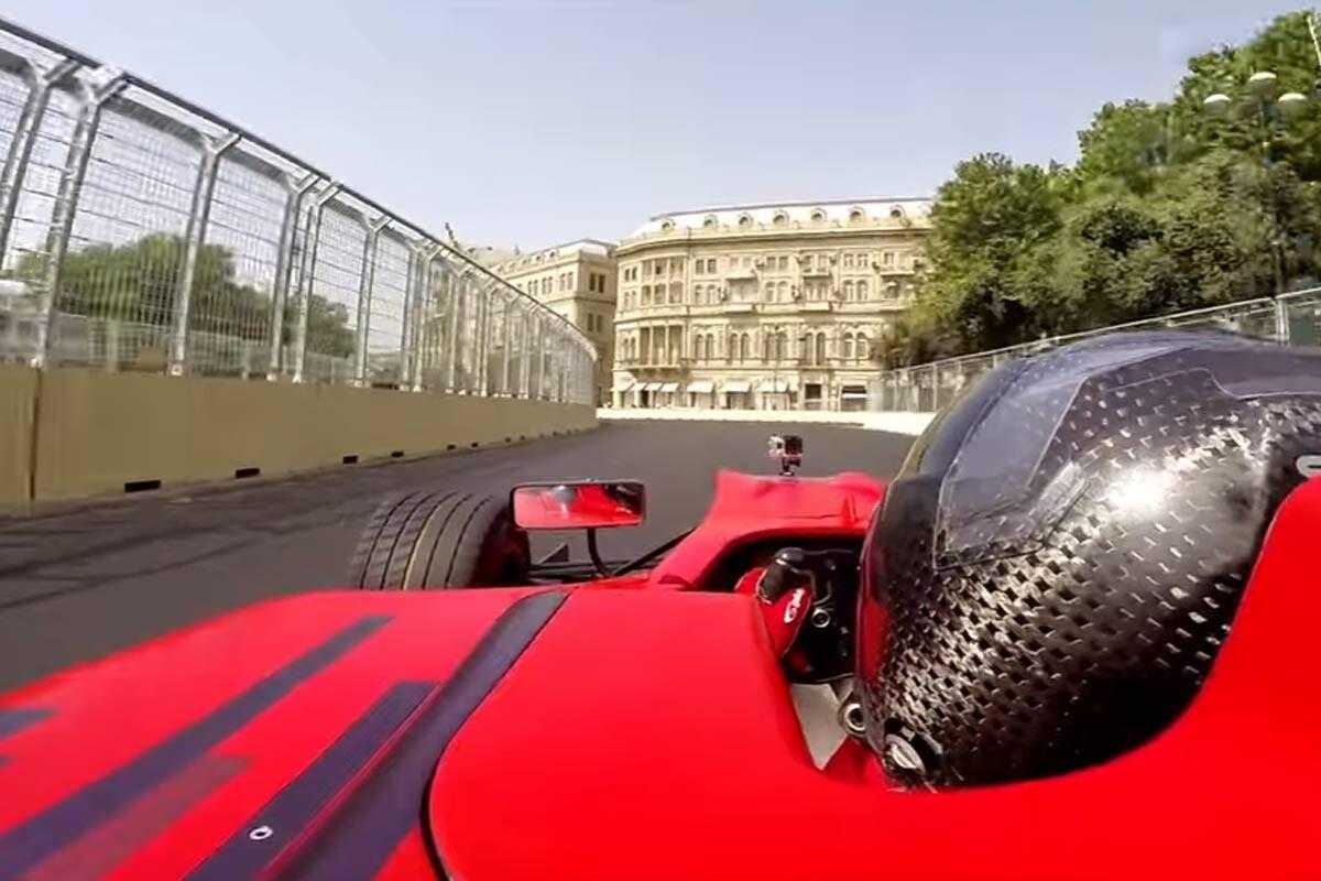 Circuito urbano de Bakú