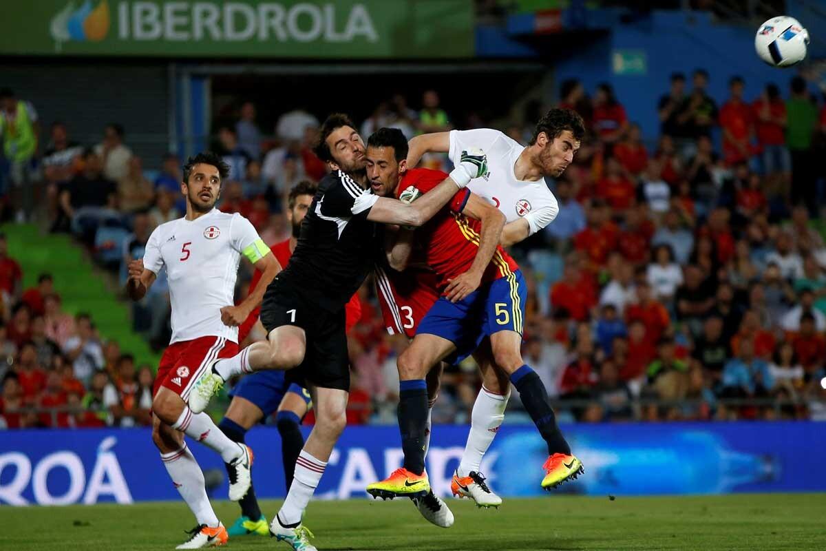 España-Georgia