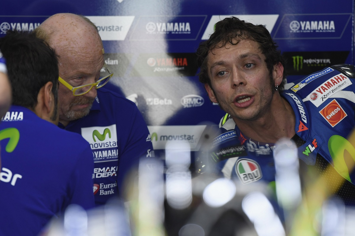 Rossi critica la variación del circuito