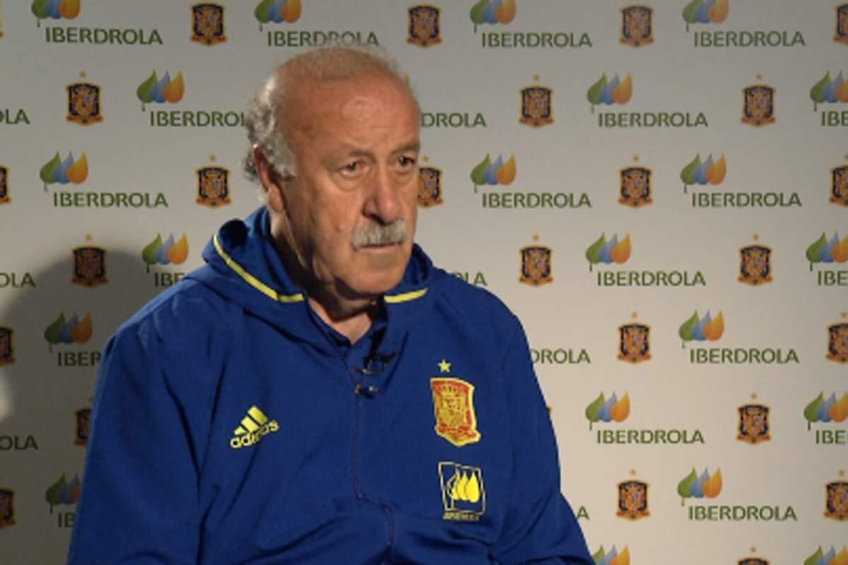Del Bosque habla sobre Iker