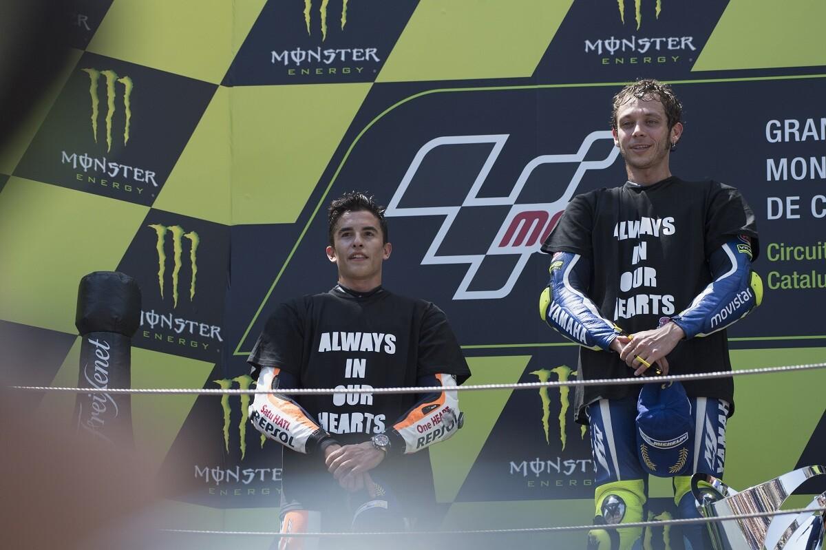 Jarvis agradece el gesto entre Rossi y Márquez