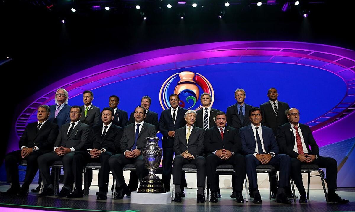 Los seleccionadores de la Copa América 2016