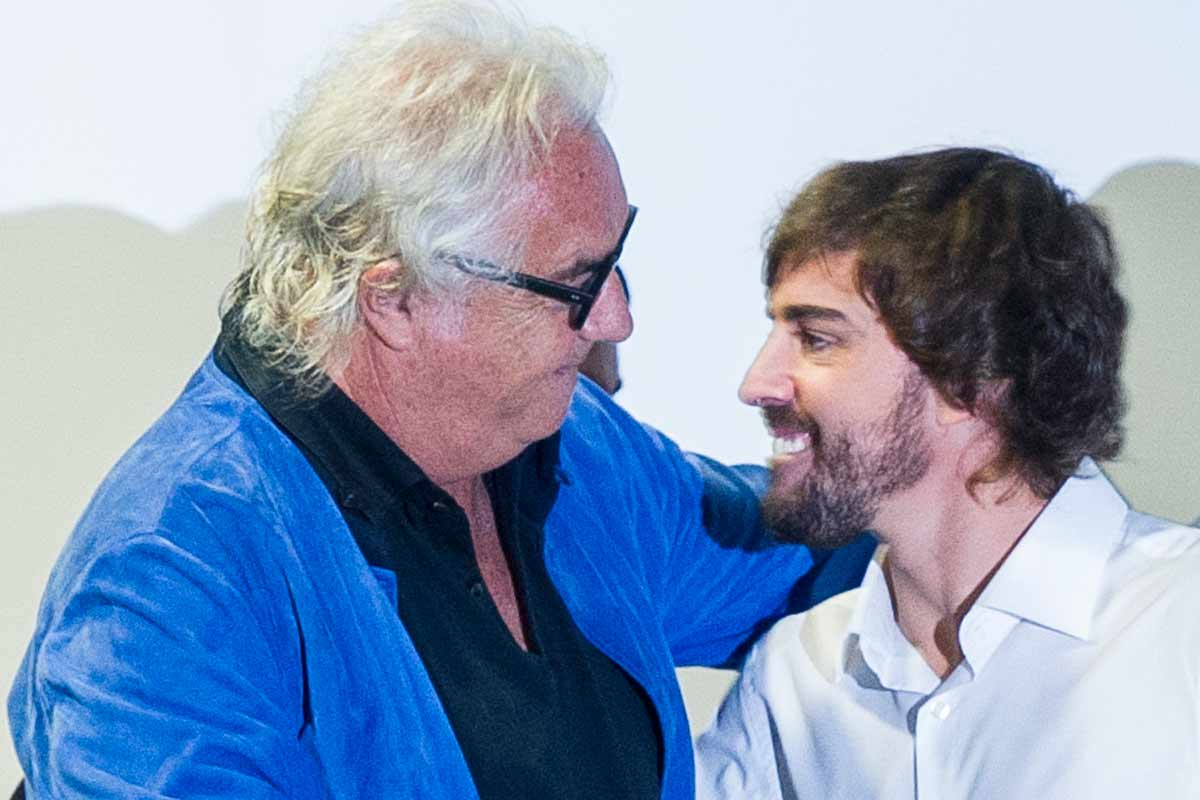 Briatore y Alonso