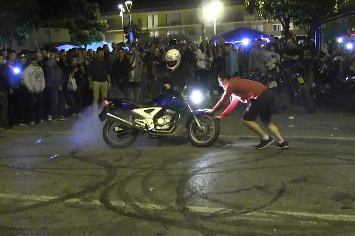Gasolina y goma en Montmeló