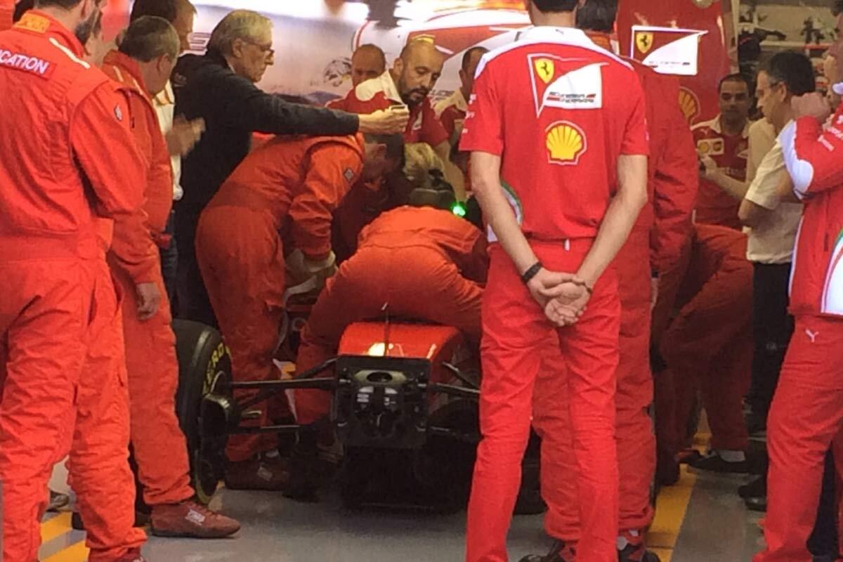 Halo de Ferrari en Austria