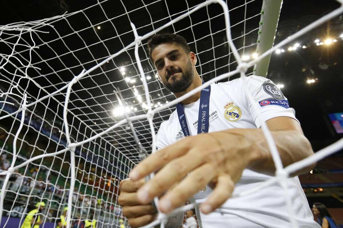Isco es jugador del Real Madrid