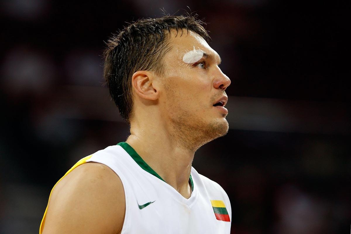 Sarunas Jasikevicius en su etapa como jugador