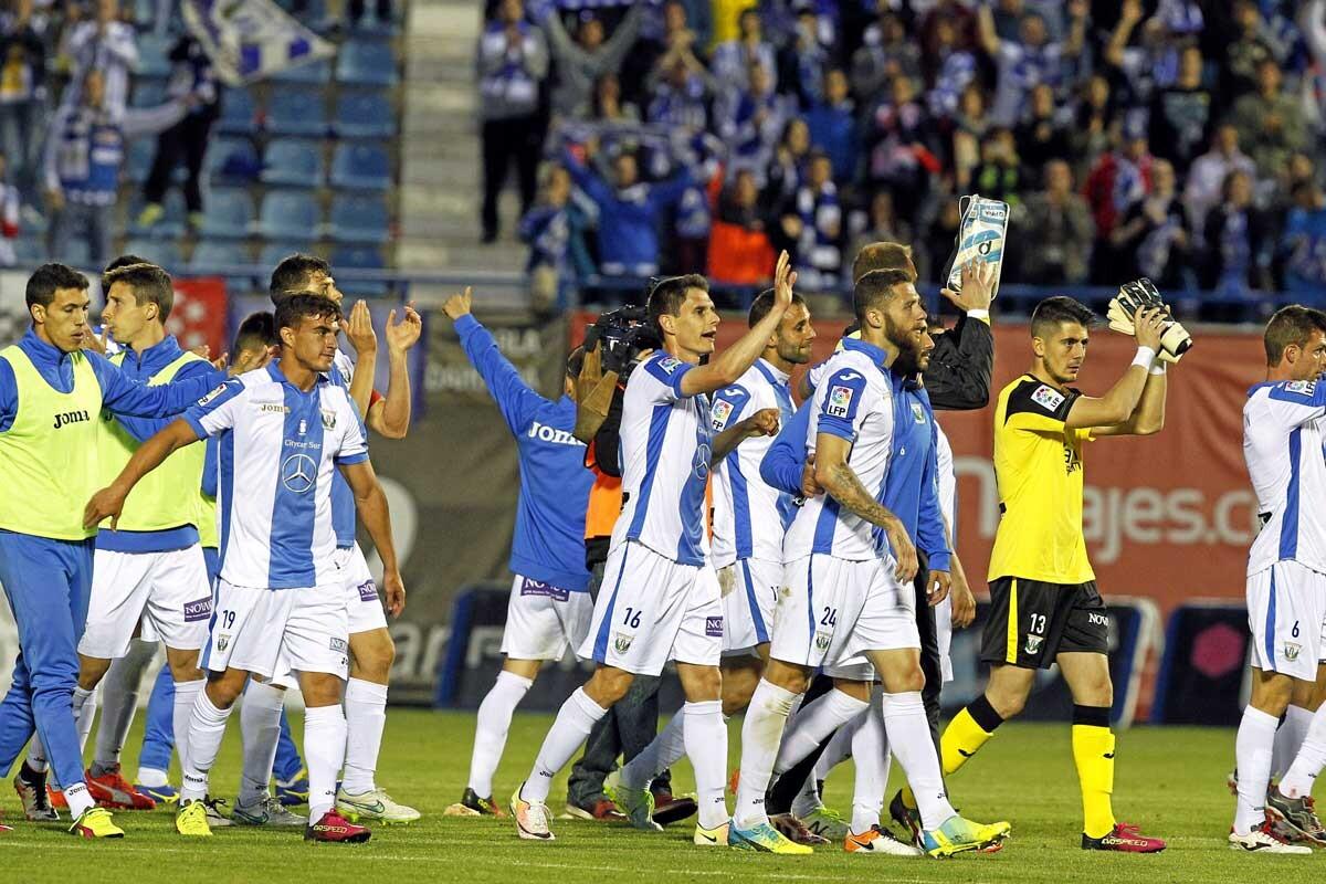 El Leganés logra el sueño del ascenso.