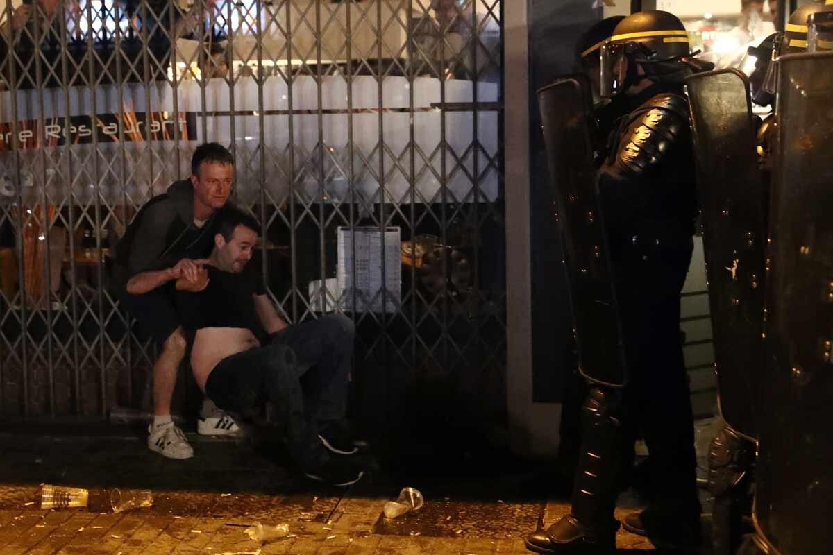 Hooligans en Lille