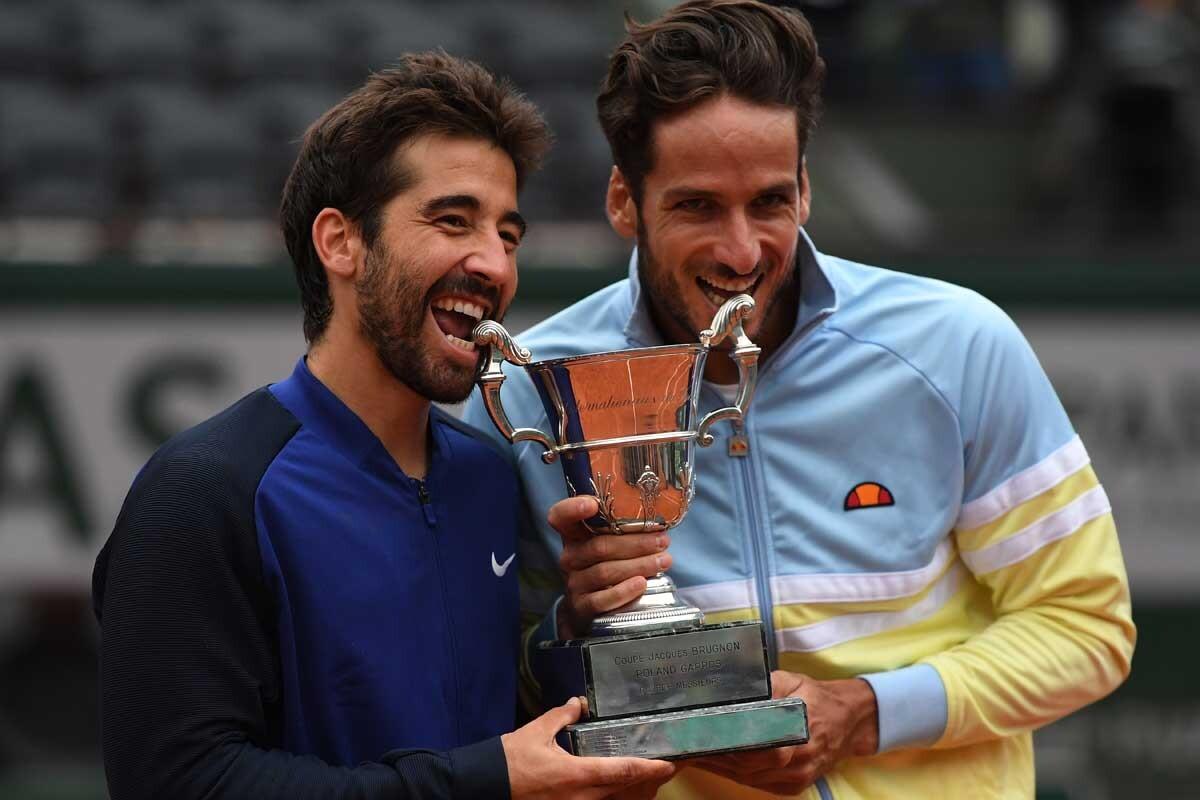 Feliciano López y Marc López son tenistas