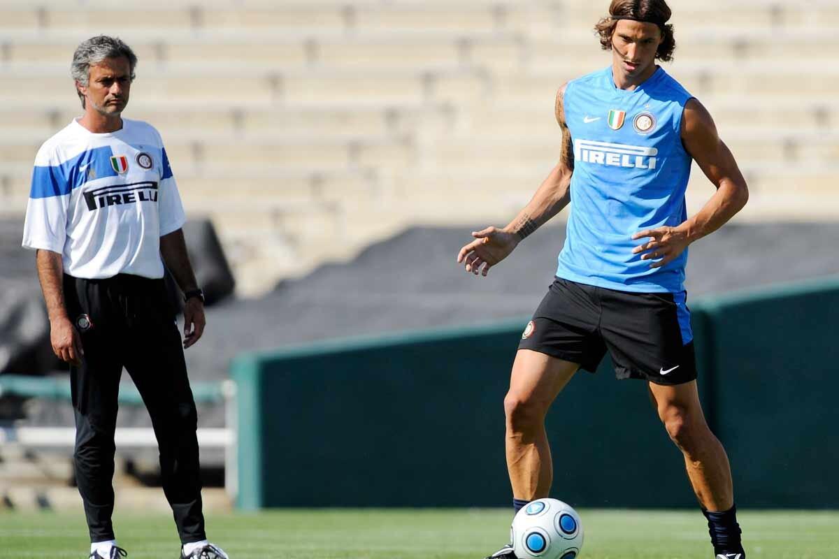Mourinho e Ibrahimovic