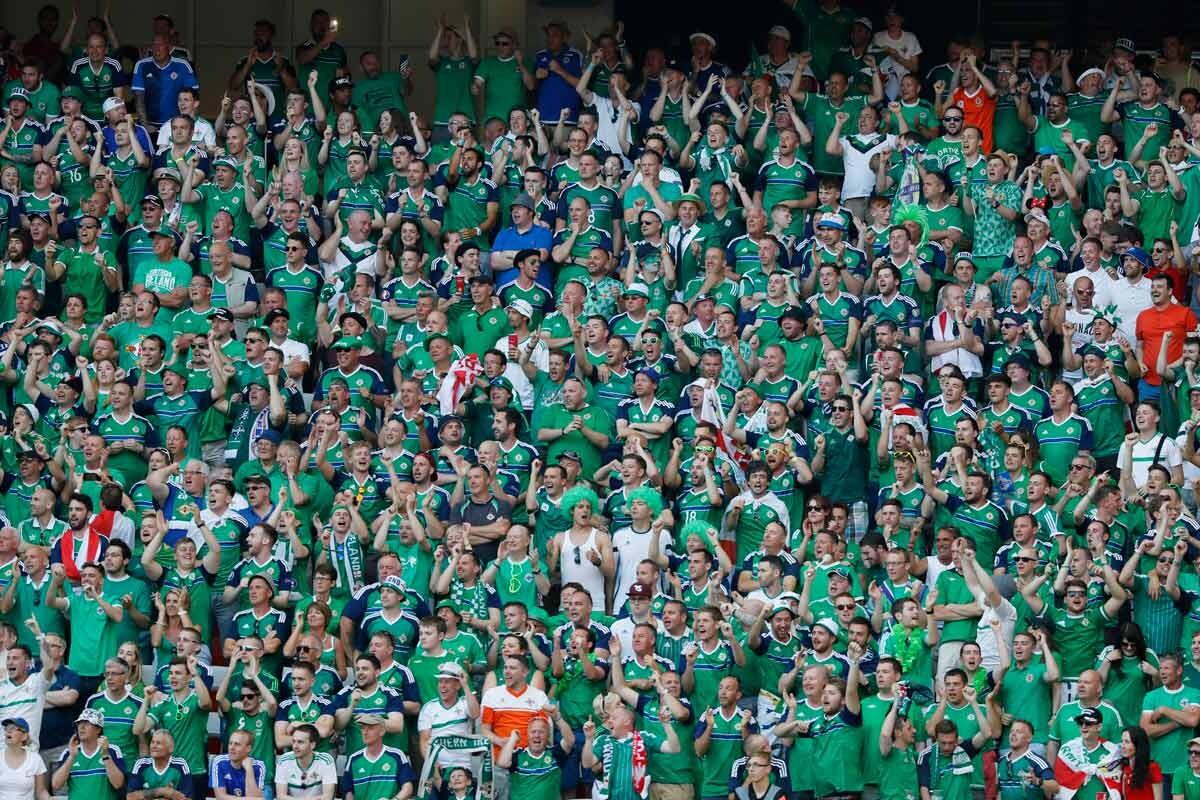 Fans de Irlanda del Norte
