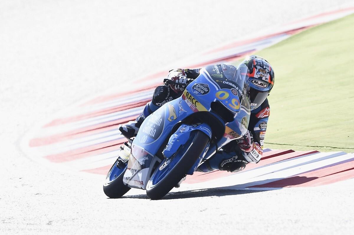 Navarro logra su primera victoria mundialista en Moto3