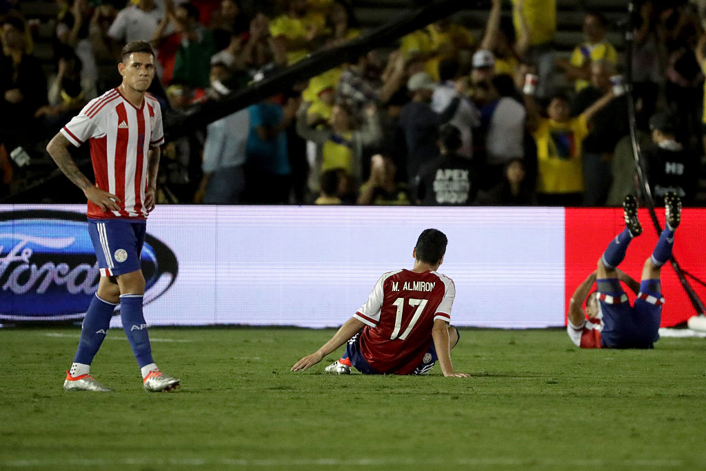 Sanabria disputó la Copa América Centenario con Paraguay