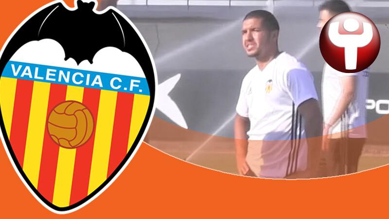 Zakaria Bakkali se incorpora al entrenamientos Valencia CF