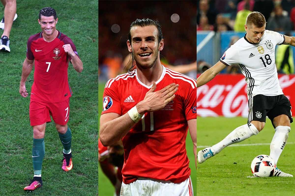 Cristiano, Bale y Kroos