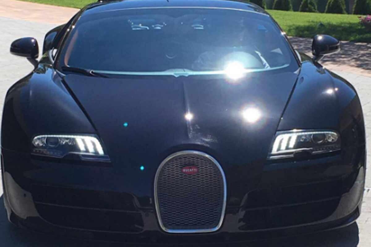 El nuevo Bugatti Veyron de Cristiano Ronaldo