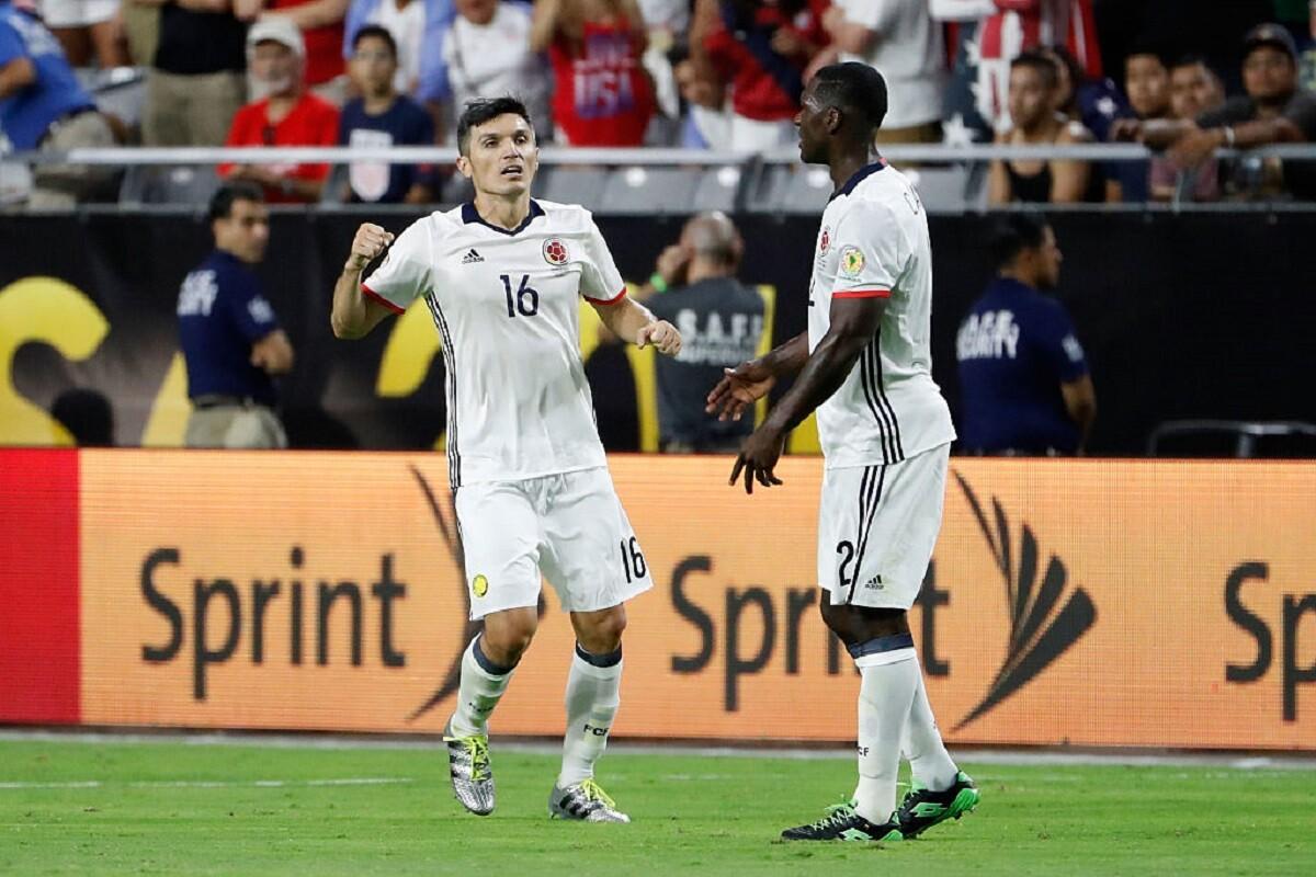 Torres jugó la Copa América Centenario con Colombia