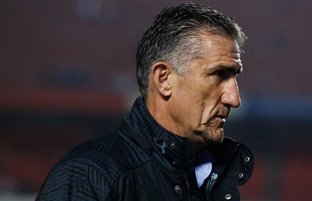Edgardo Bauza entrenador argentino al servicio de Sao Paulo