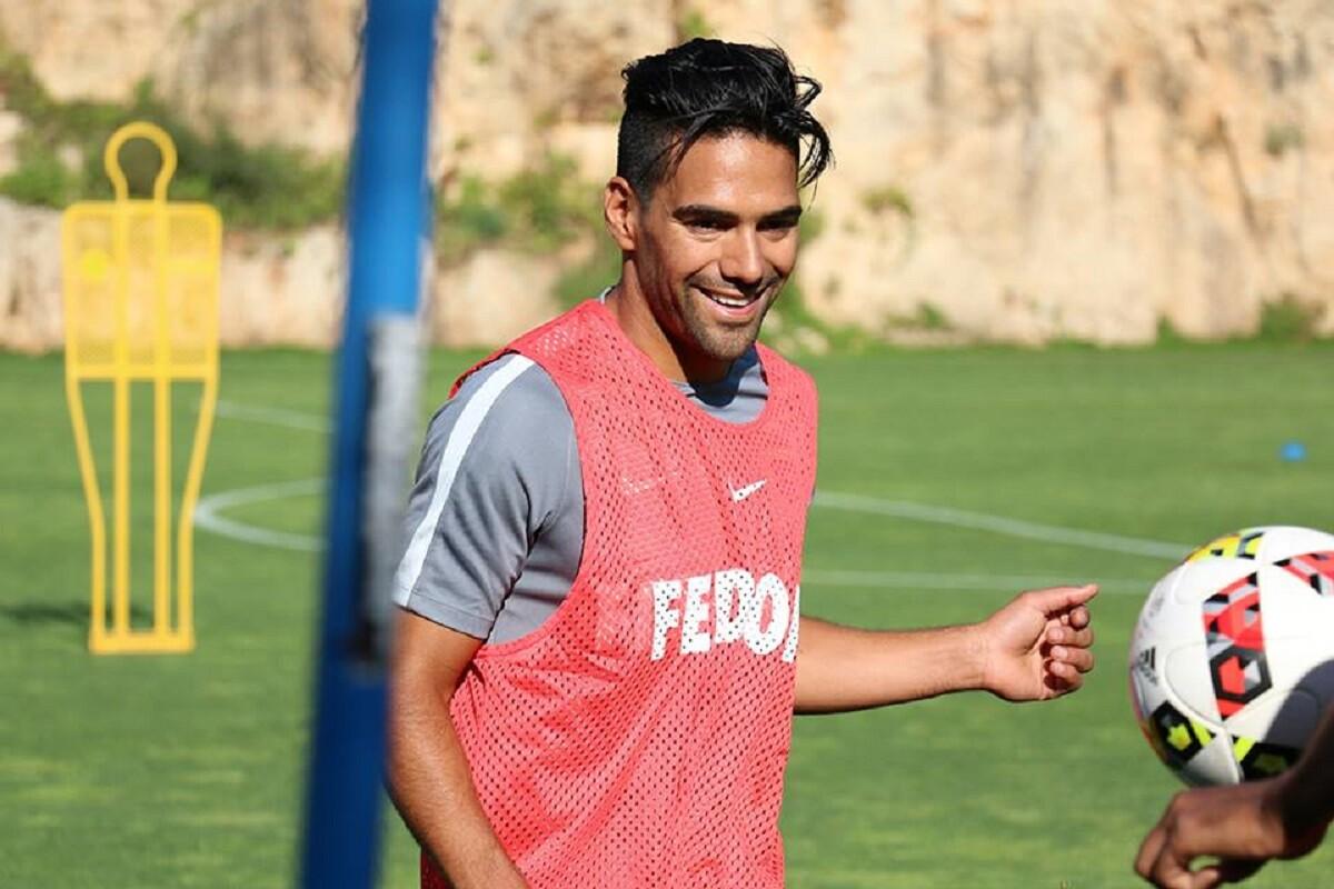 Falcao anotó gol en partido amistoso del Mónaco