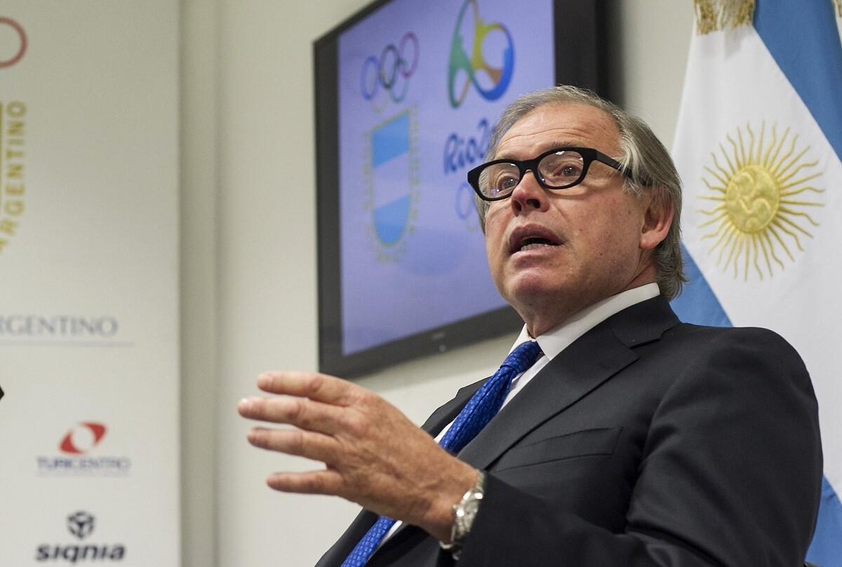 El Presidente del Comité Olímpico Argentino