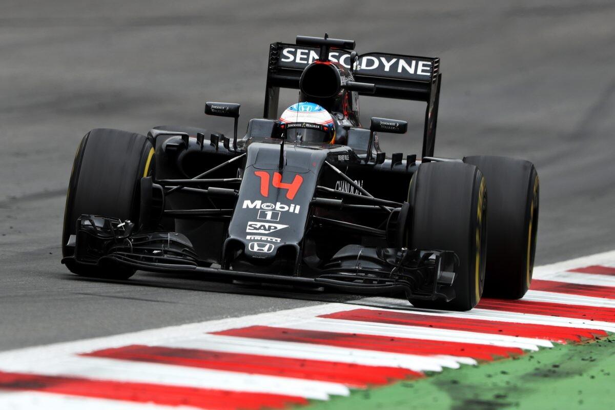 McLaren de Fernando Alonso