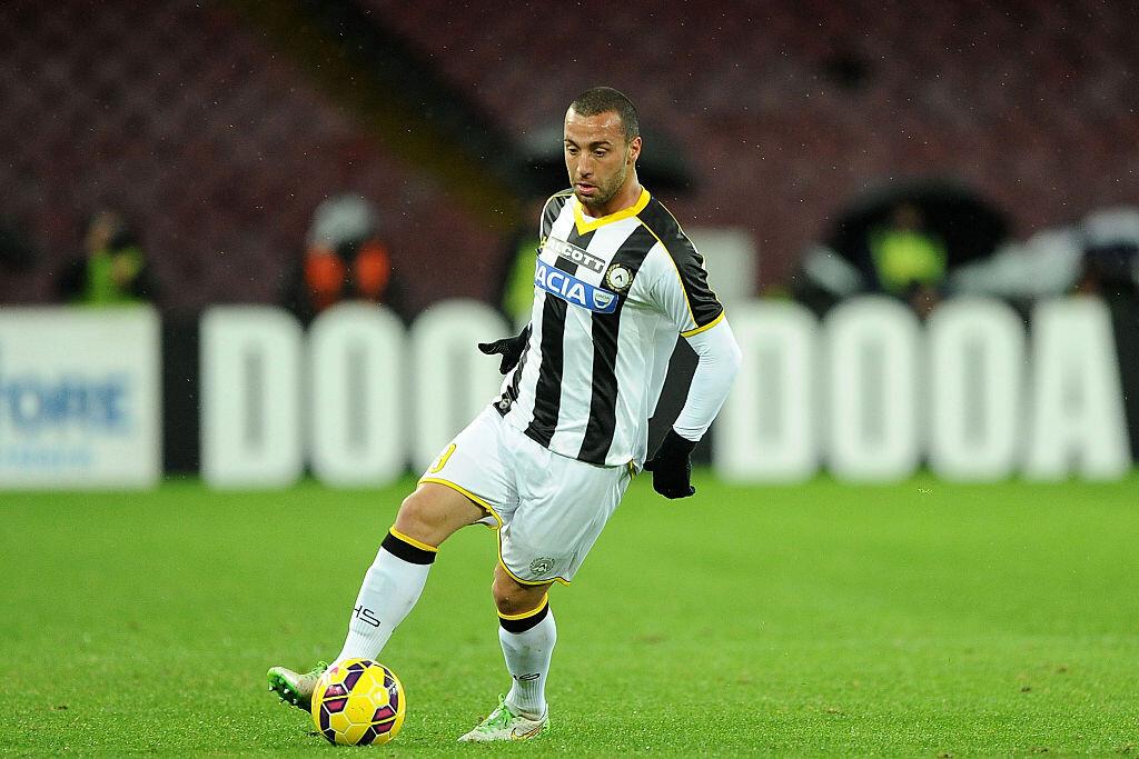 Guilherme dos Santos con el Udinese