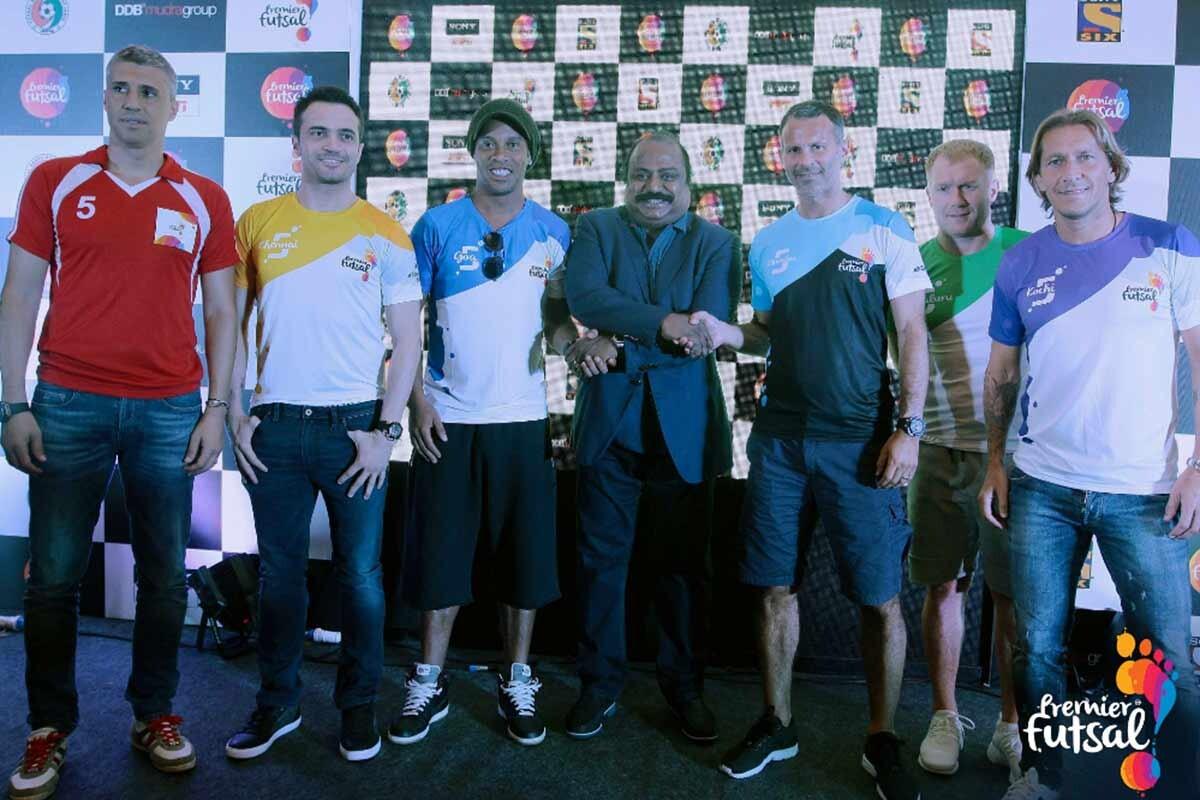 Ronaldinho, Scholes, Giggs, Crespo, Michel Salgado, y Falcao formarán parte de la primera edición